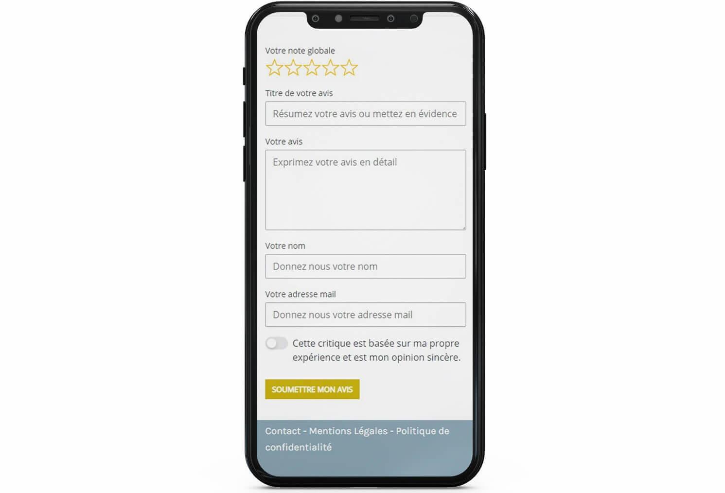 screen module avis client