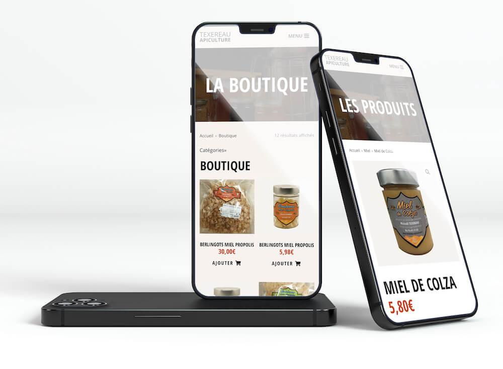 screen ecommerce mobile